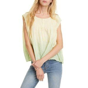 Free People Little Bit of Something Ombre Top NWT